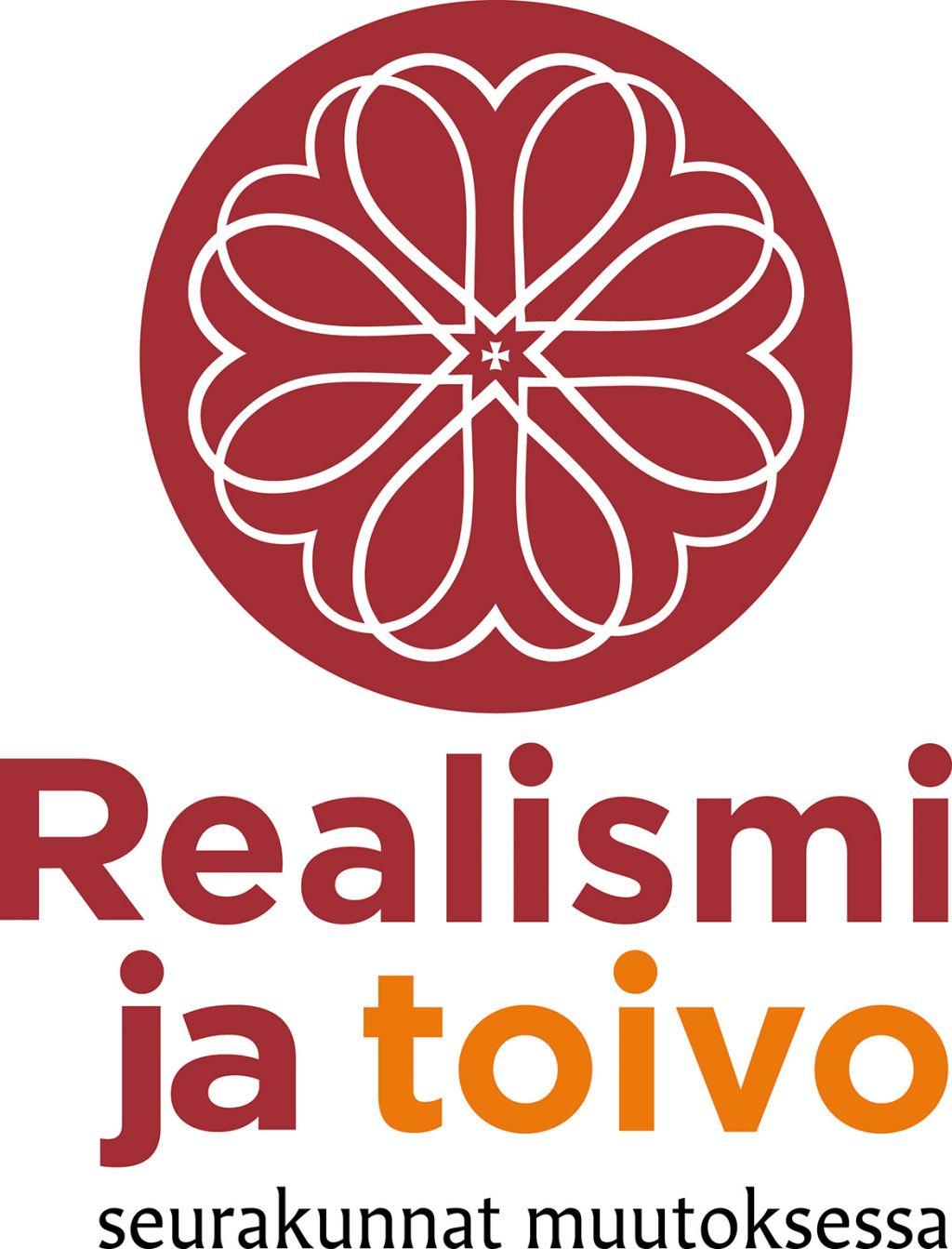 Realismi ja toivo - seurakunnant muutoksessa -logo