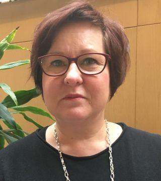 Kuvassa Ulla Kallio